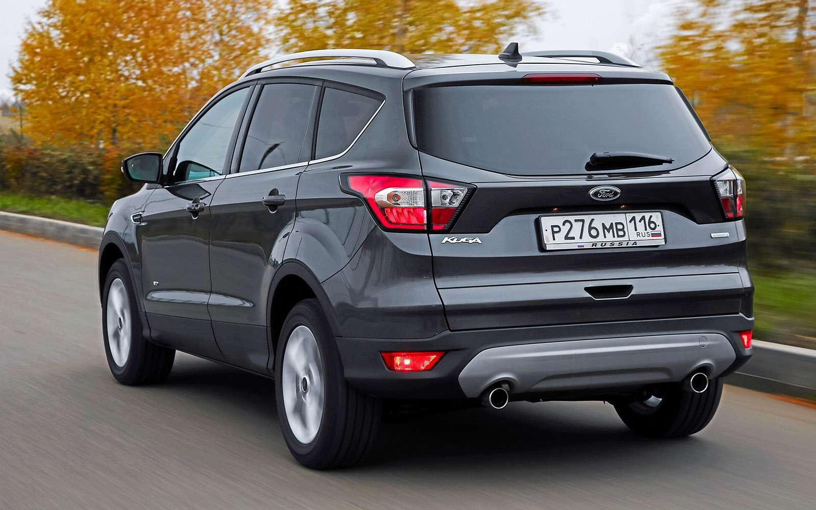 Обновленный Ford Kuga российской сборки: мыпоездили нанем первыми!— фото 674472