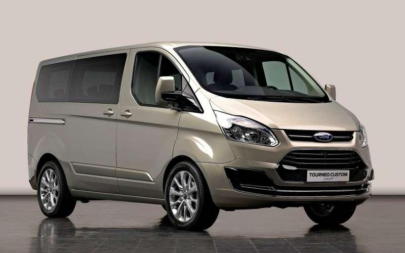 Форд Sollers объявил остарте продаж моделей Transit Custom иTourneo Custom