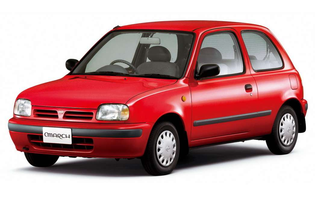 Nissan March/Micra (K11)— первая японская разработка, получившая титул «Автомобиль года» вЕвропе. Выпускался с1992по 2003год