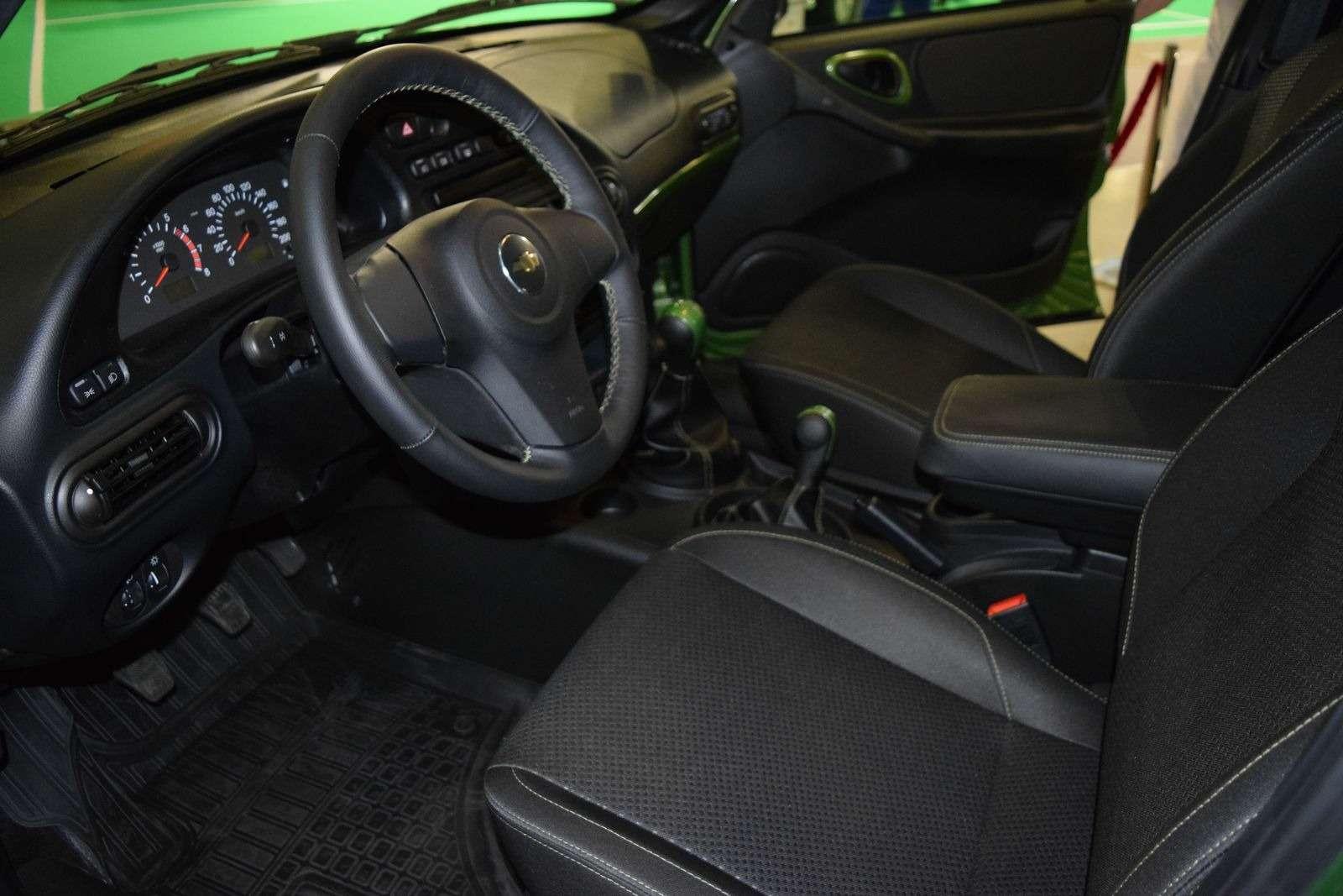 GM-АВТОВАЗ подогреет интерес кChevrolet Niva новыми спецверсиями— фото 387445
