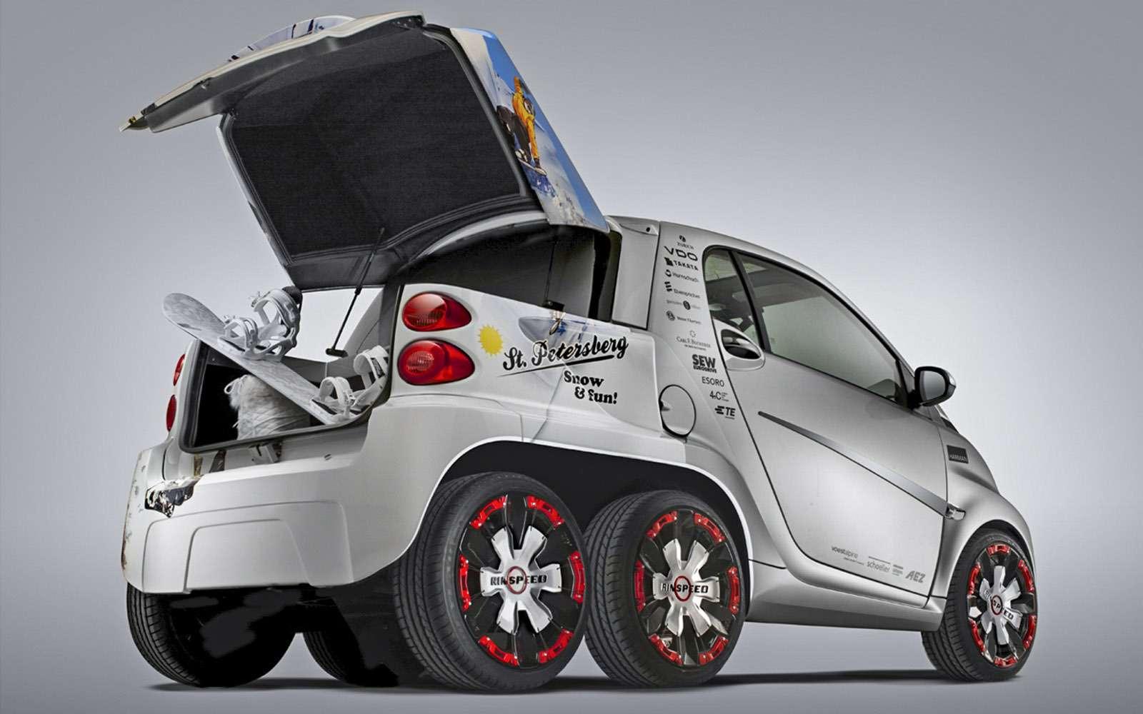 Пикапы Toyota Hilux Arctic Trucks: 4х4или 6х6?— фото 745688