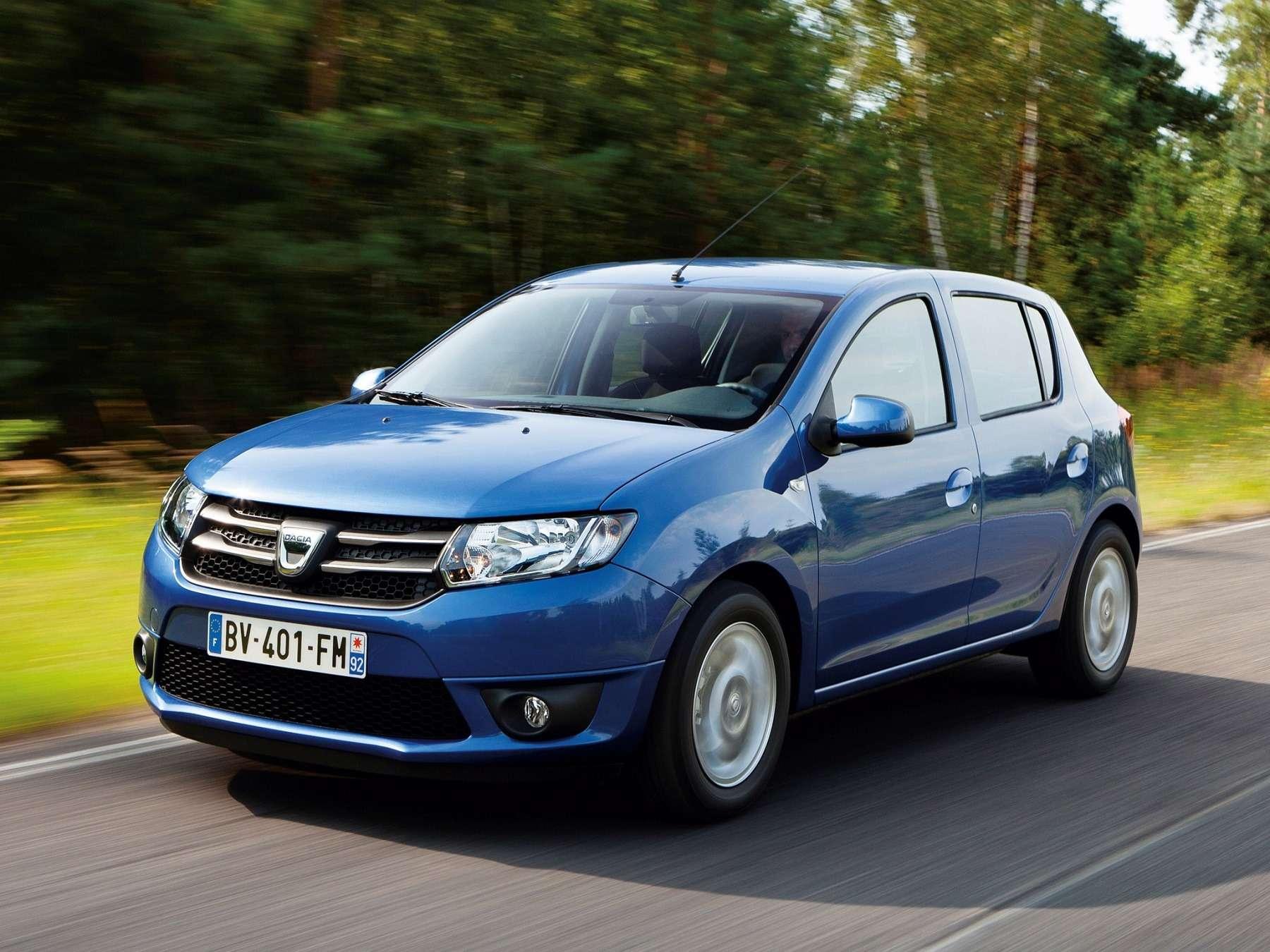 Dacia Sandero (мызнаем его как Renault Sandero)