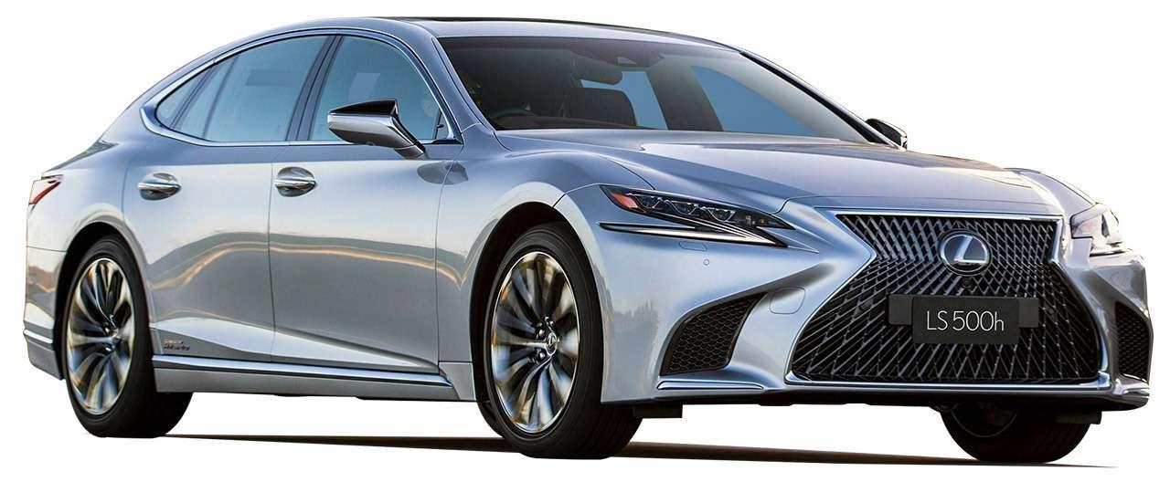 Большой тест престижных седанов: новый Lexus LS500и конкуренты— фото 928776
