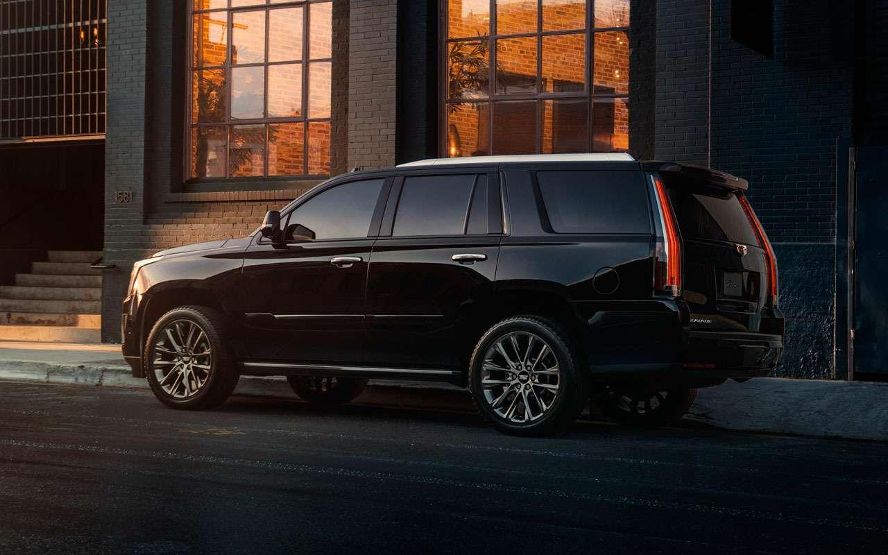 Cadillac начал продажи особенного кроссовера— фото 978002