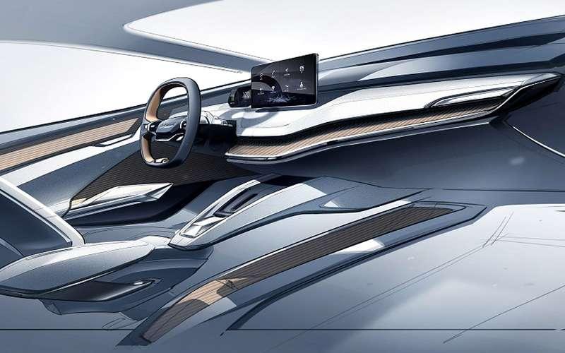 Шкода представила дизайн купе-кроссовер Vision iV