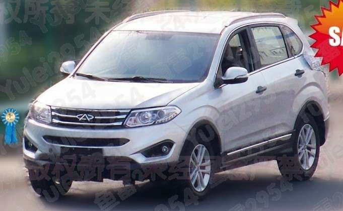 no copyright chery tiggo 5 china