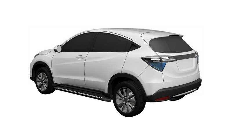 Honda запатентовала новый кроссовер на базе HR-V