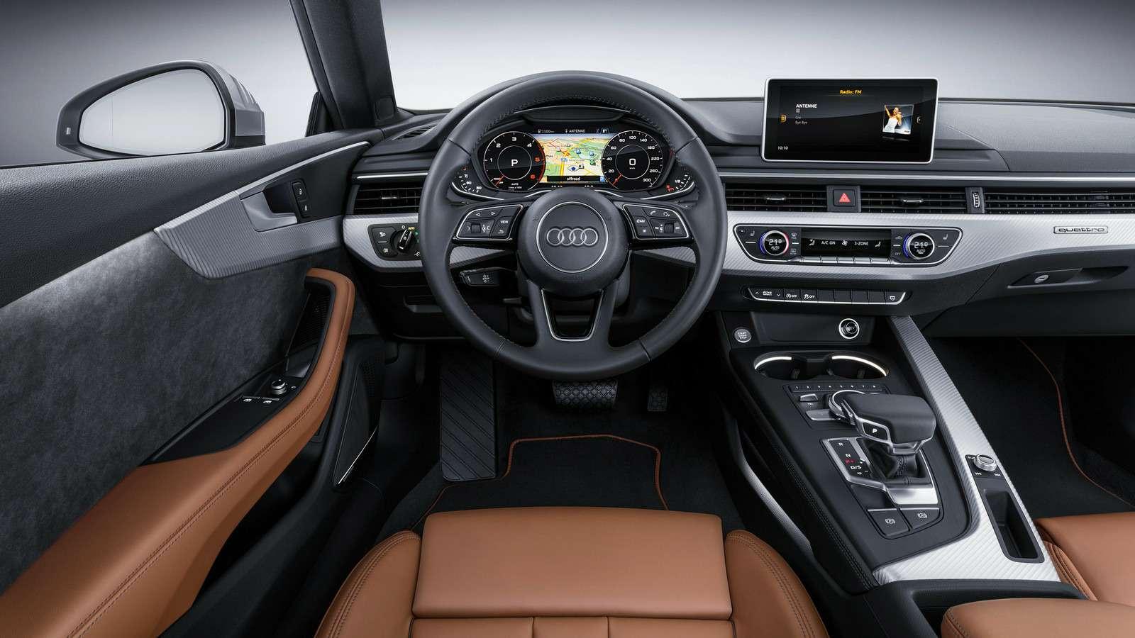 Новый Audi A5не стал «ломать глаза»— фото 594572