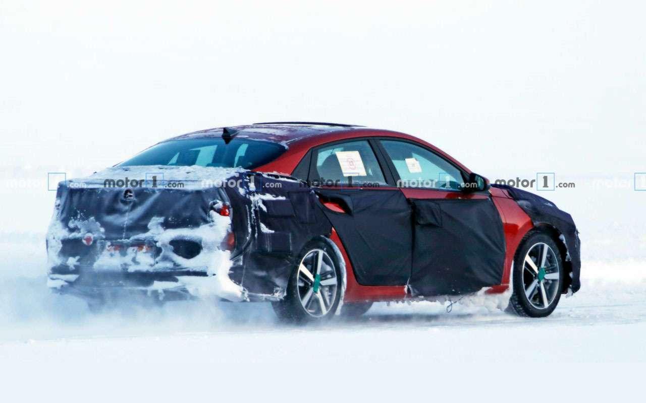 Самая скрываемая новинка Hyundai— фото сиспытаний— фото 1076925