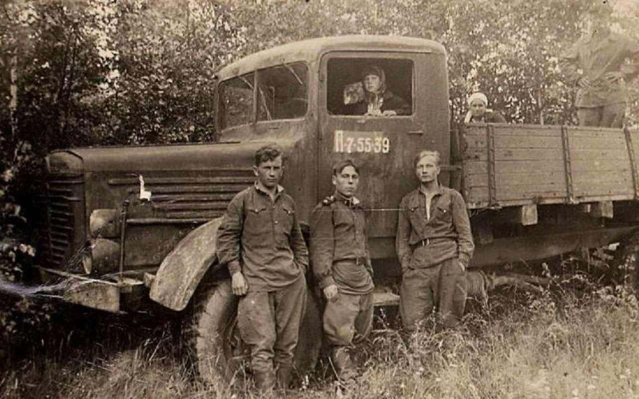 Грузовики Великой Отечественной— фото 867567