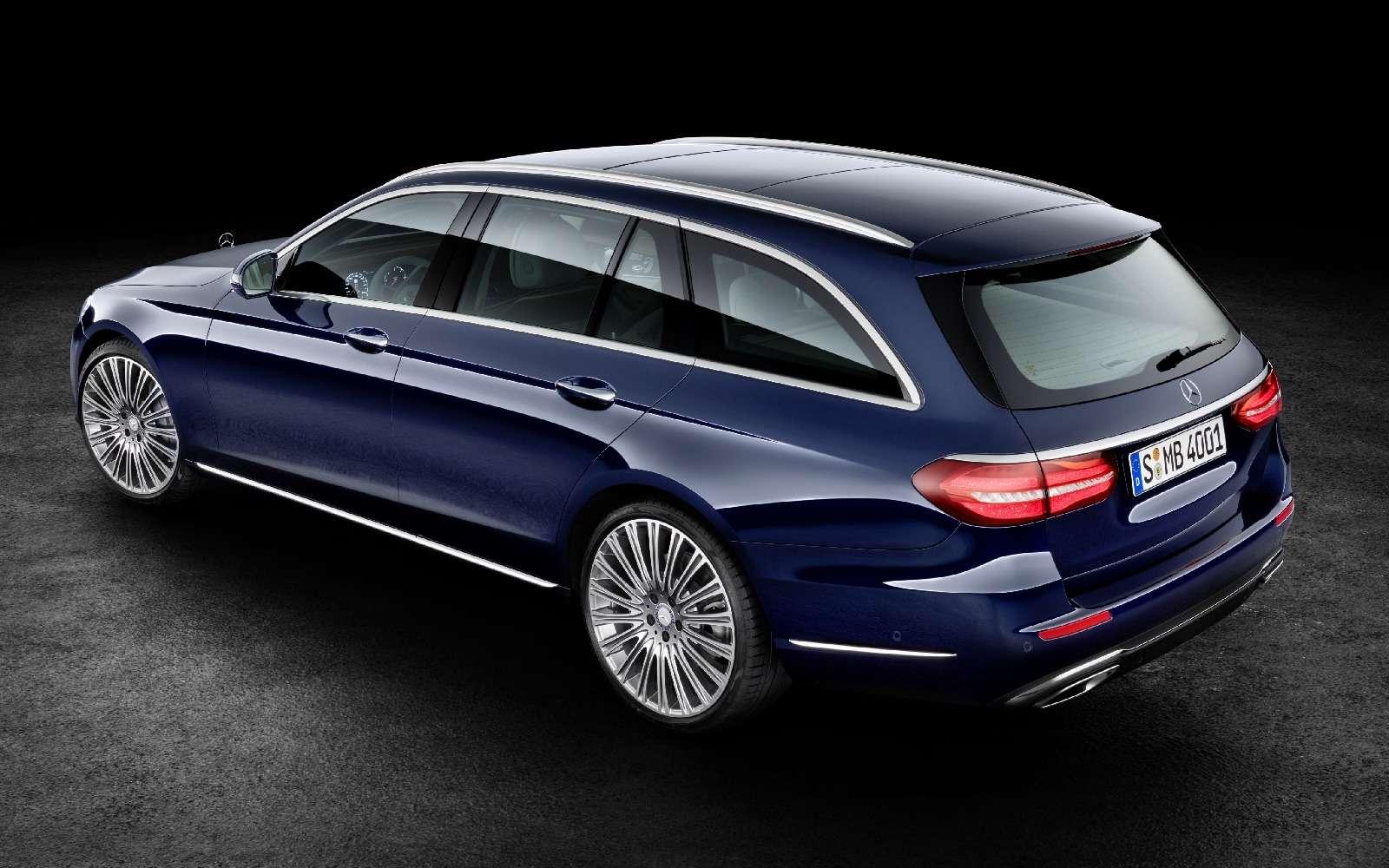 Новый универсал Mercedes-Benz Е-класса: шестой, юбилейный— фото 595686