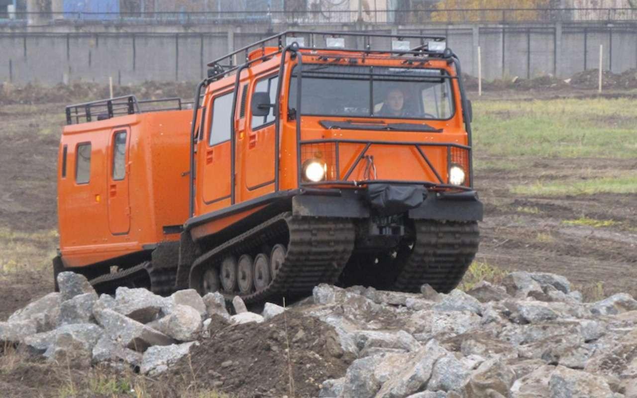 15крутых вездеходов набазе автомобилей ГАЗ— фото 914642