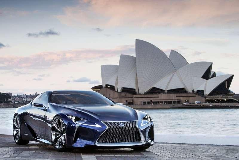 Lexus LFLCBlue Concept 2012 1600x1200 wallpaper 02no copyright