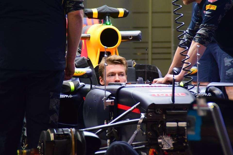 Даниил Квят, Формула 1, ГПРоссии, Сочи Автодром, Red Bull Racing