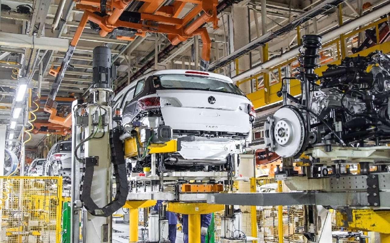 Началось российское производство Volkswagen Taos— фото 1249596