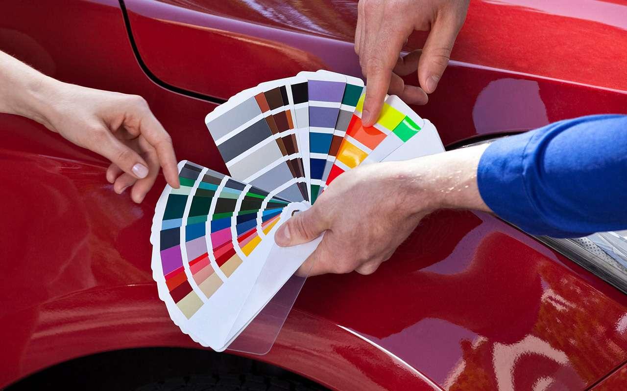 256оттенков серого: как подбирают краску длякузова— фото 974746