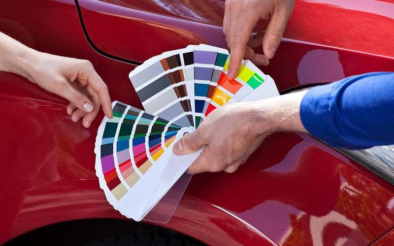 256оттенков серого: как подбирают краску длякузова