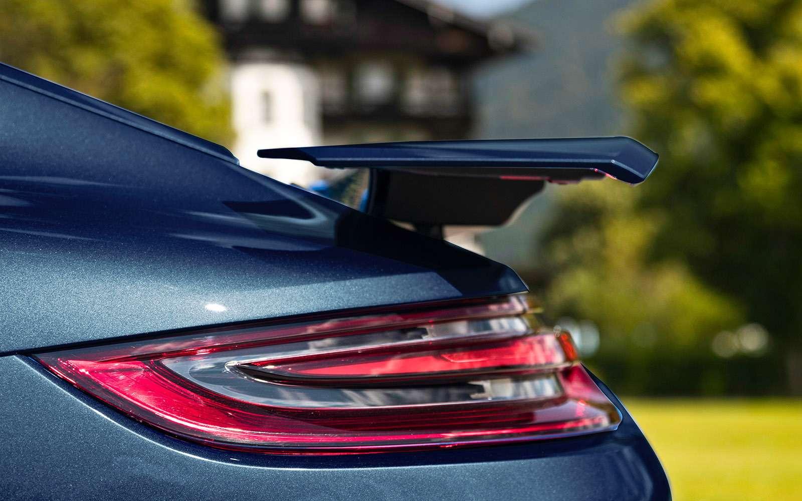 Porsche Panamera 2017: цитата из911— фото 644159