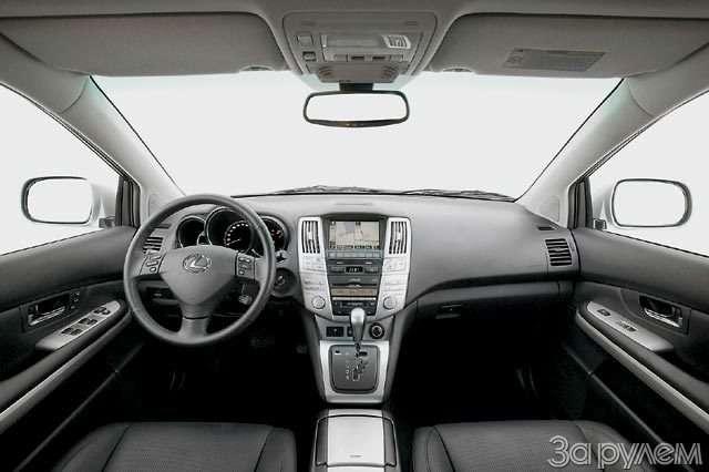 Lexus RX400h. Электросила— фото 57045