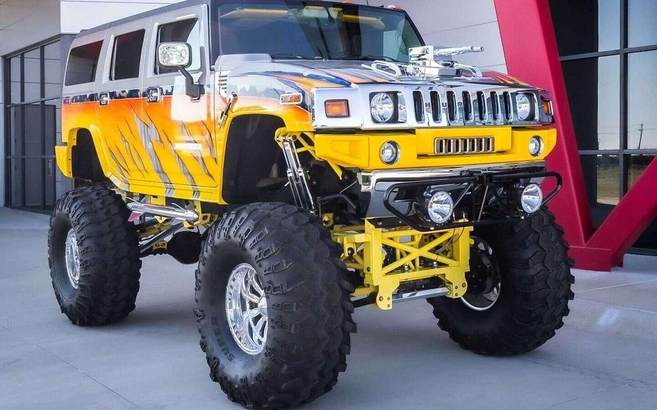 Продается «самый крутой» Hummer H2— фото 1200854