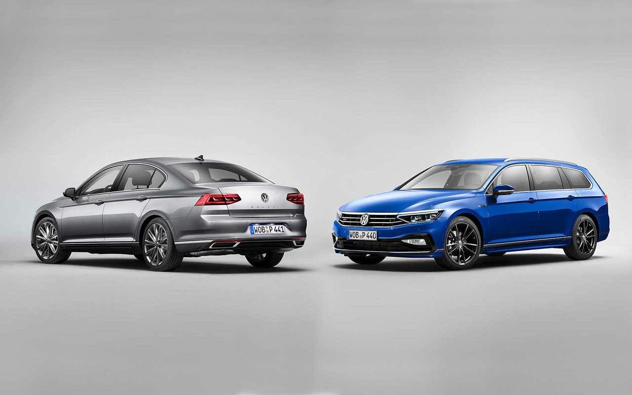 VWпредставил Passat счистым дизелем— фото 954950
