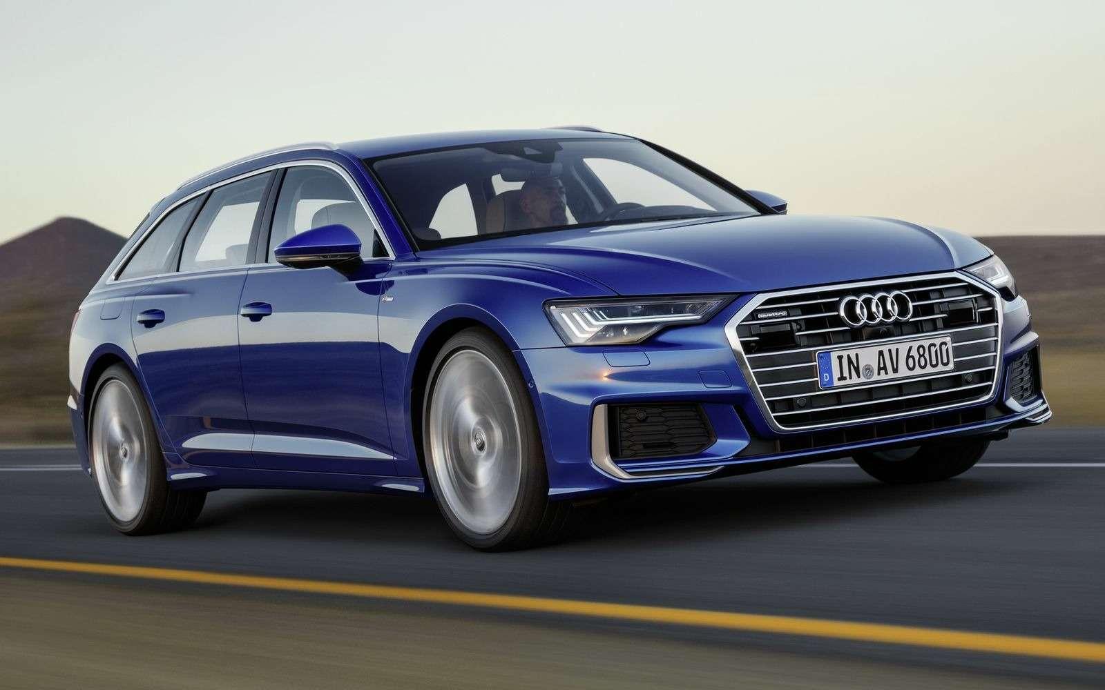 Новый Audi A6Avant: элегантность превыше всего— фото 861648