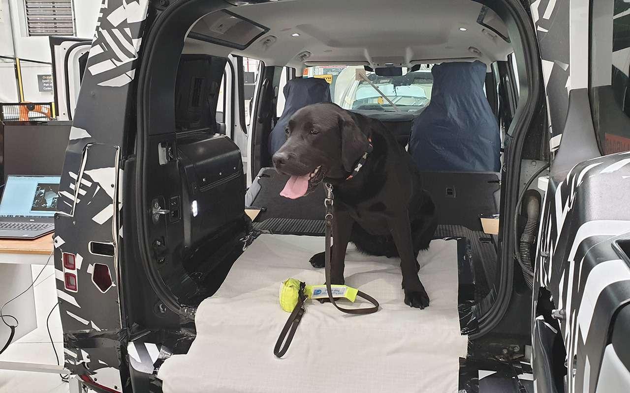 Jaguar Land Rover сконструировал лапу собаки— фото 1021642