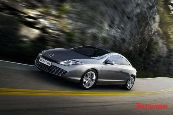 Renault Laguna Coupe side-front view