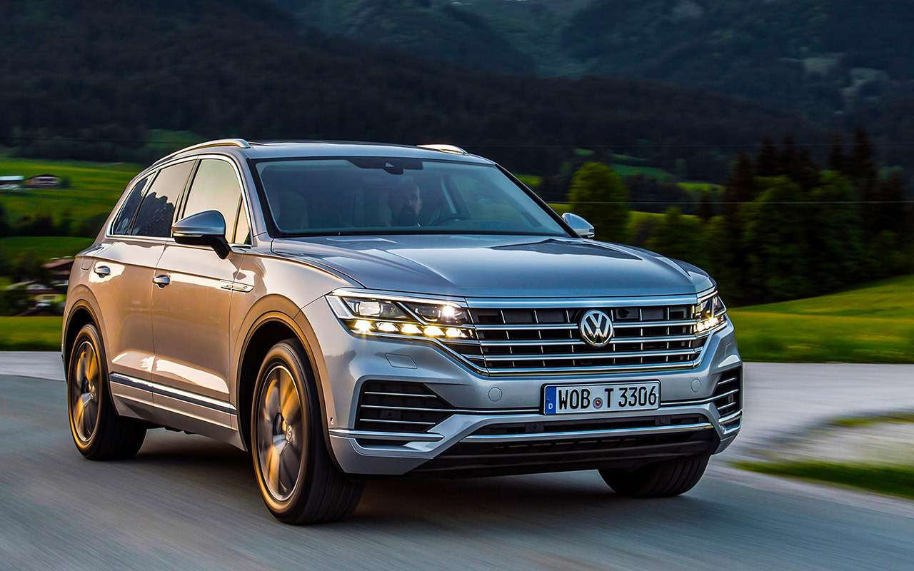 Новый Volkswagen Touareg: дизайн дляКитая истранная подвеска— фото 880134