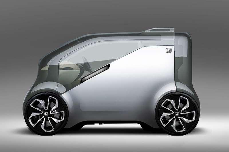 «Тостер» на колесах: Honda готовит электрический беспилотник NeuV