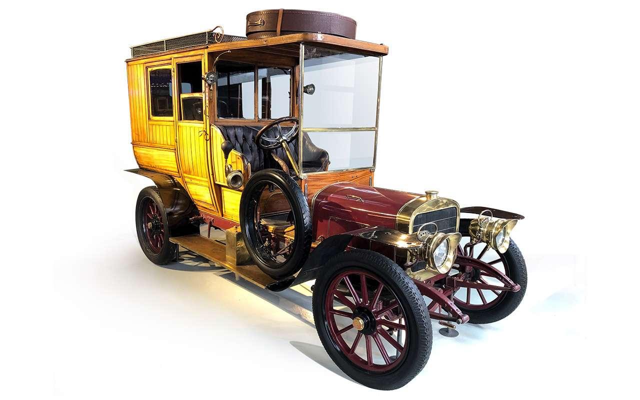 Первый серийный российский автомобиль: история Руссо-Балта— фото 1125238