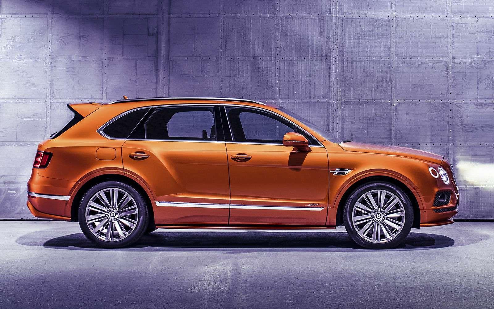 Самый быстрый внедорожник— теперь это Bentley— фото 949161