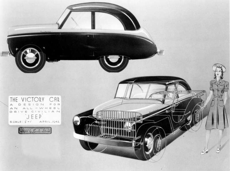 Victory Car— первый проект конверсии Jeep Стивена Брукса.