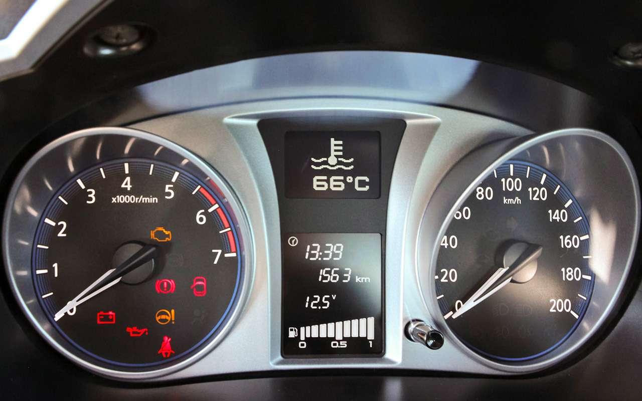 Datsun on-DO с16-клапанным двигателем— тест-драйв ЗР— фото 831054