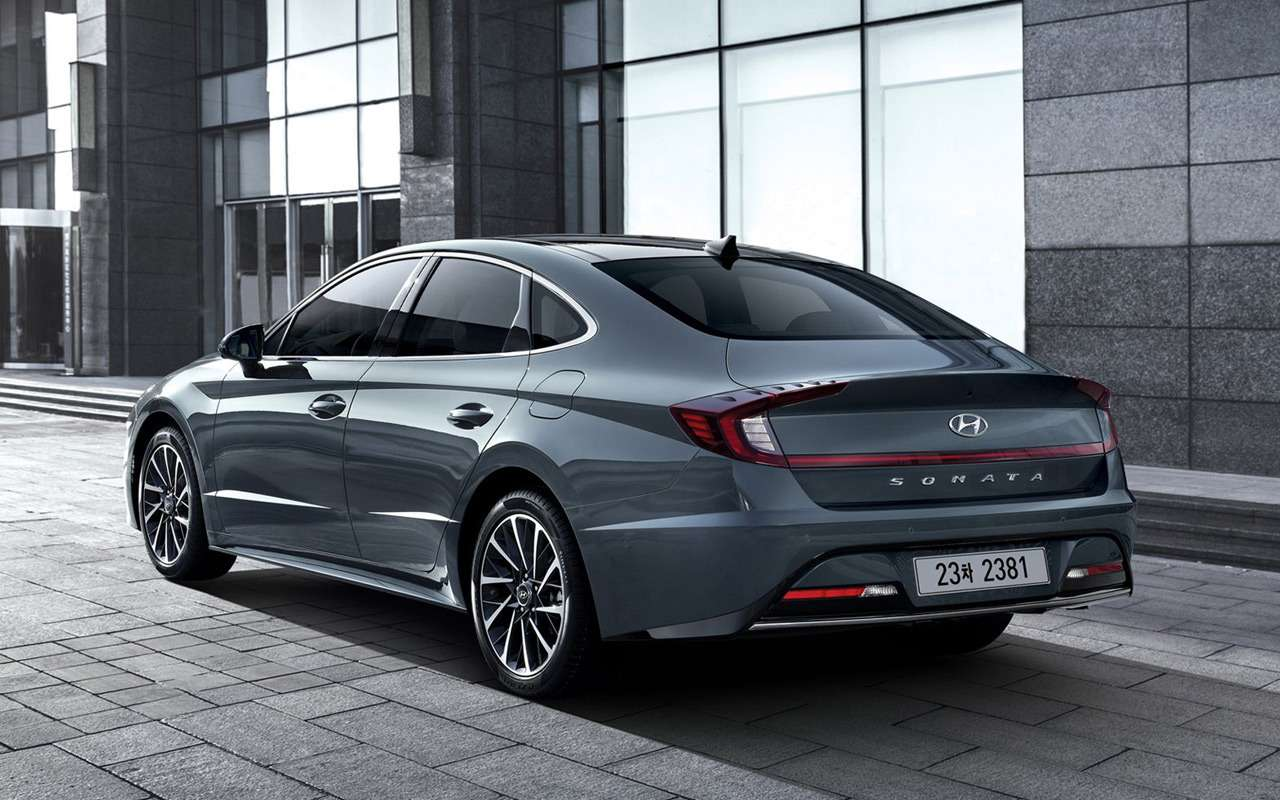 Hyundai показал новую Sonata— фото 954918