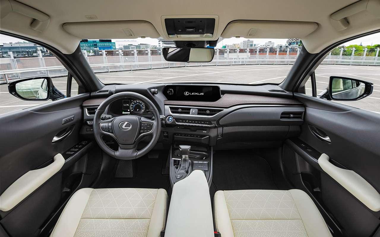 Новый кроссовер Lexus UX— первый тест-драйв— фото 908091