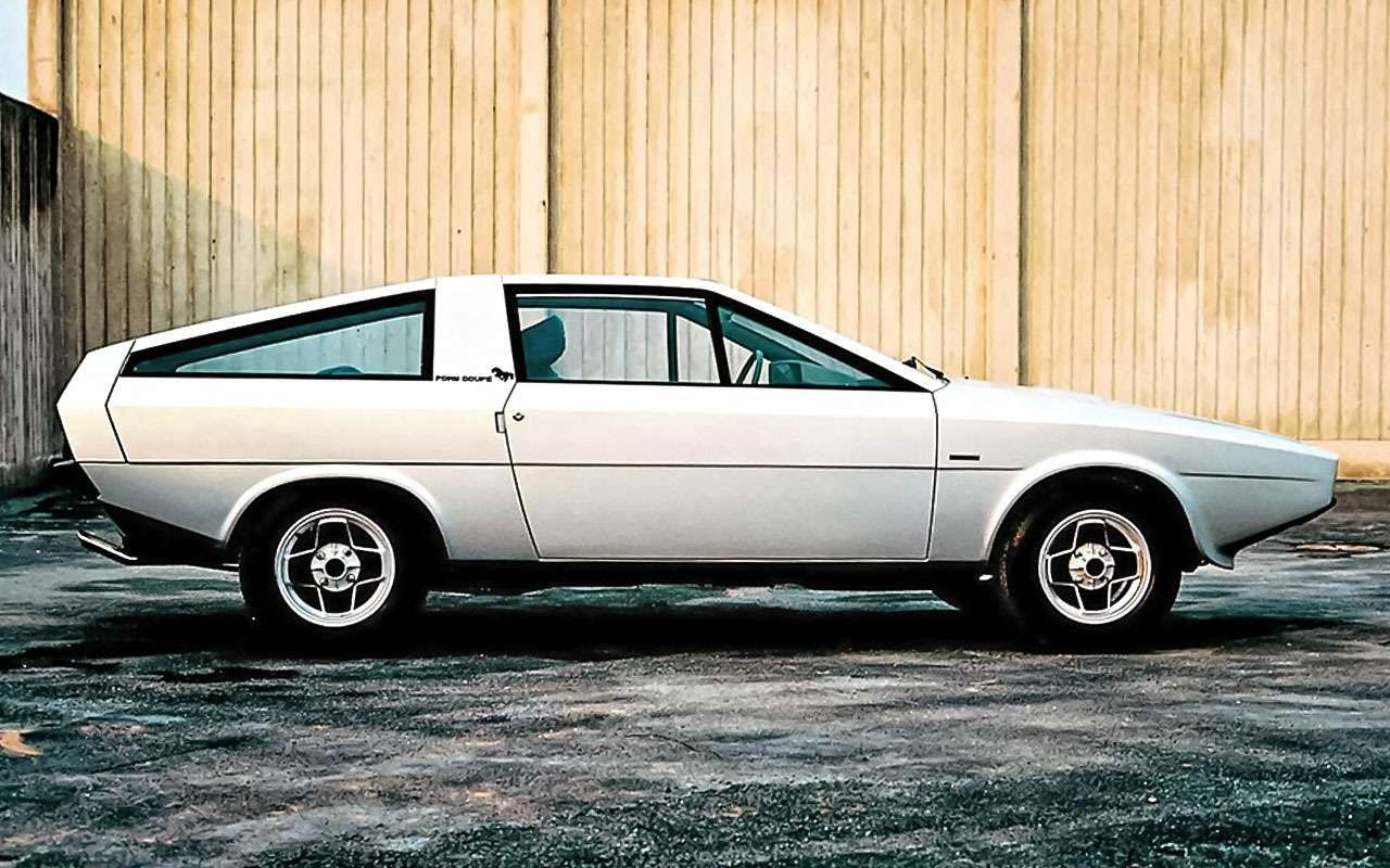 Hyundai Pony Coupe Concept (1974)