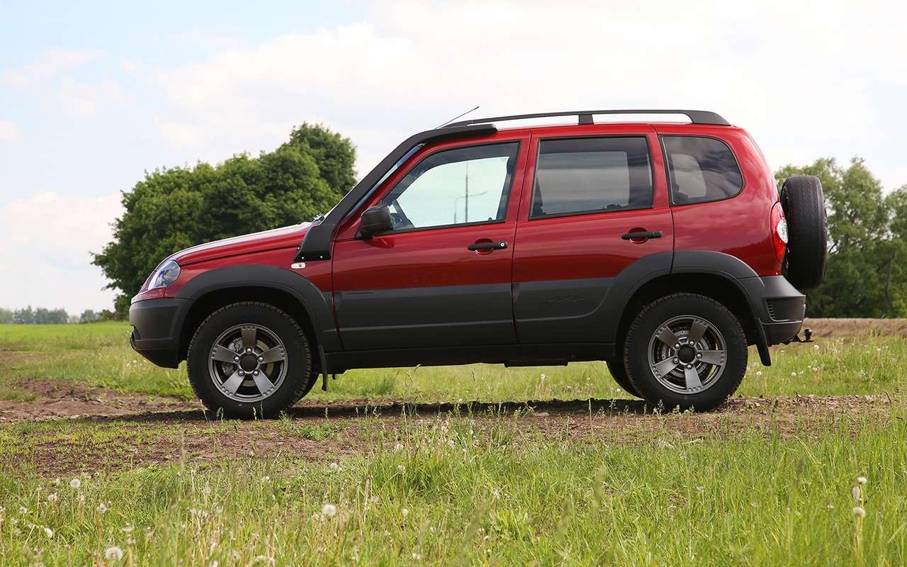 Обновленная Chevrolet Niva: тест нашум ирасход— фото 982280