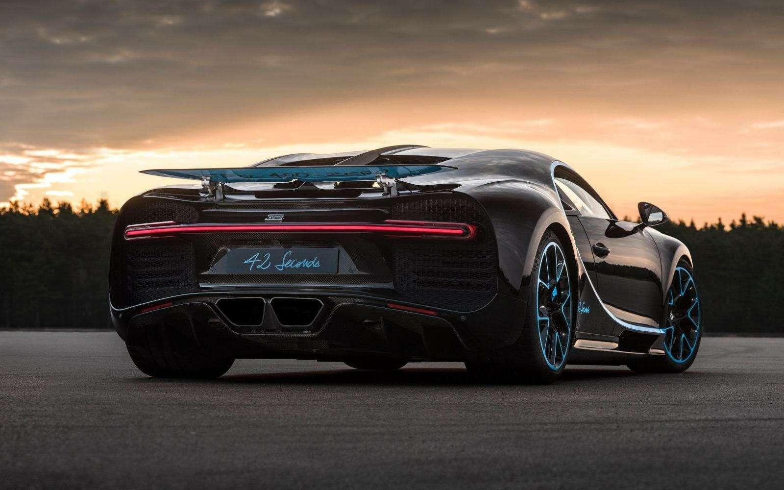 0-400-0 км/ч— видео рекордного заезда Bugatti Chiron— фото 794896