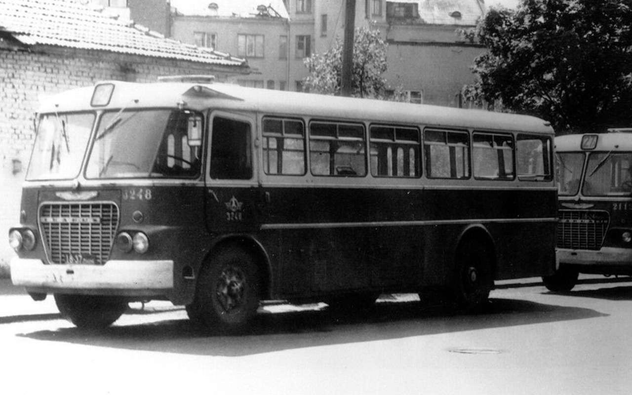 5 забытых советских автобусов, откоторых тепло надуше— фото 1271474