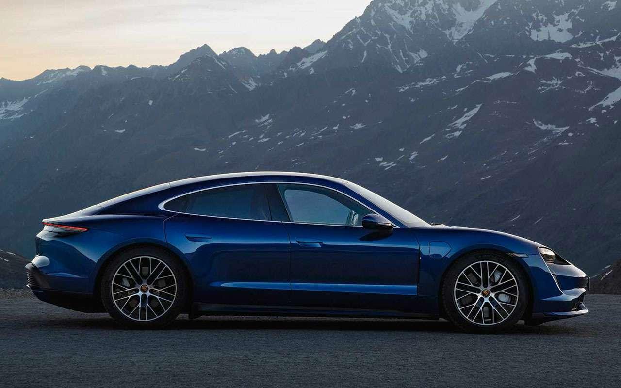Porsche, как удар током— представлен новый Taycan— фото 994930