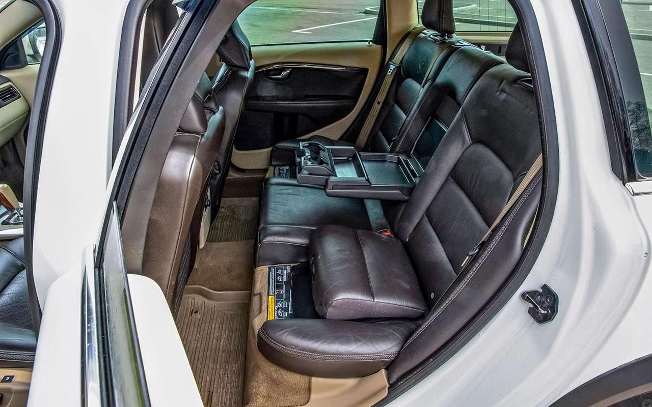 Что взять замиллион? Новый Largus против 10-летнего Volvo— фото 1256774