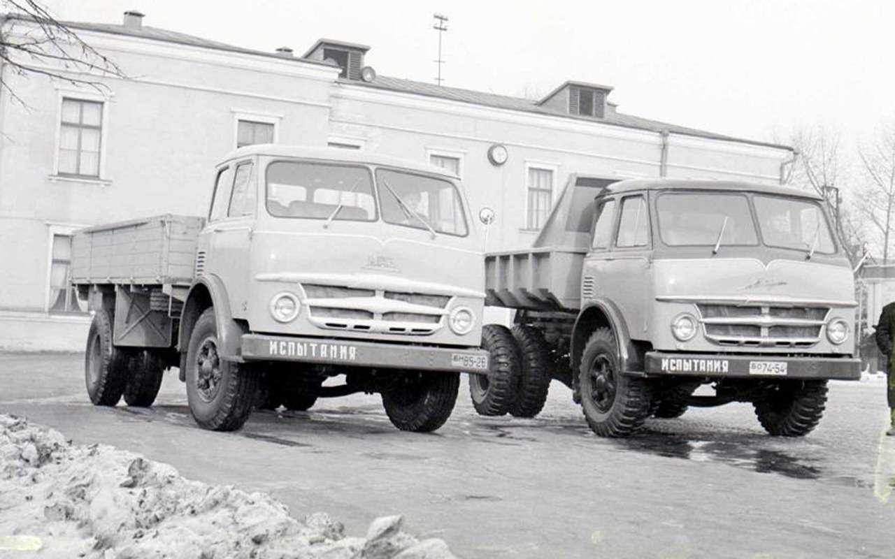 Мотор V12с автоматом— были итакие грузовики вСССР!— фото 1033953