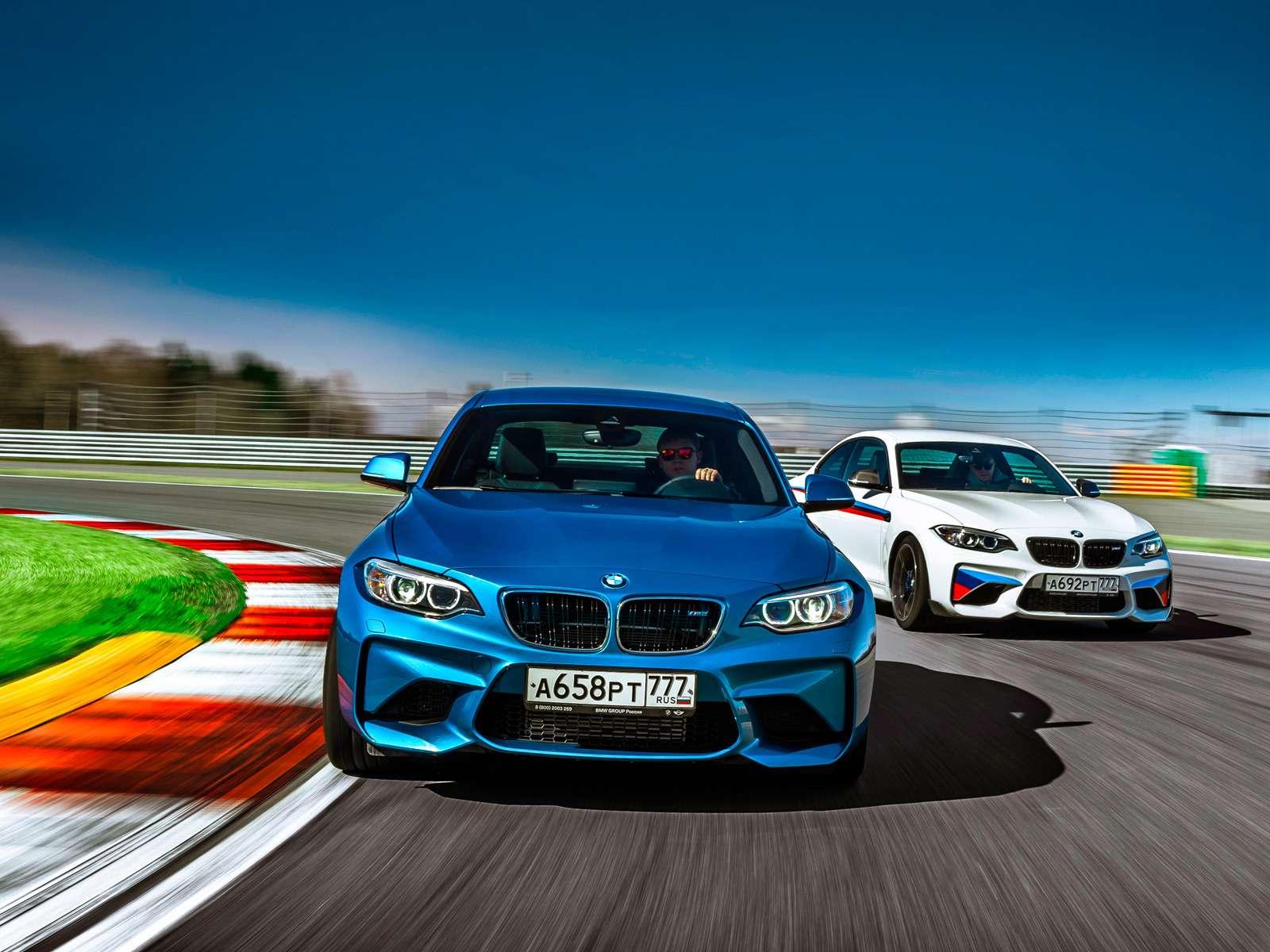 Тест BMW M2и M2Performance: донастройка— фото 596527