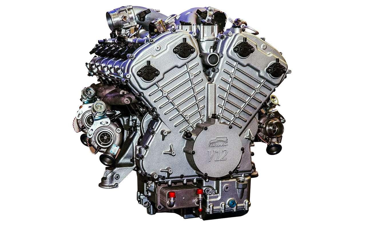 Самые большие моторы отV12до W18: полная история— фото 1085977