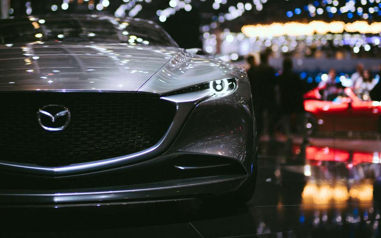 Mazda запатентовала новую модель