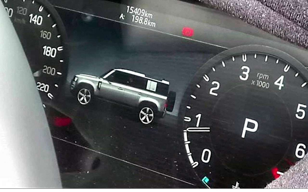 Первое фото: Land Rover Defender раскрыл себя сам— фото 982378