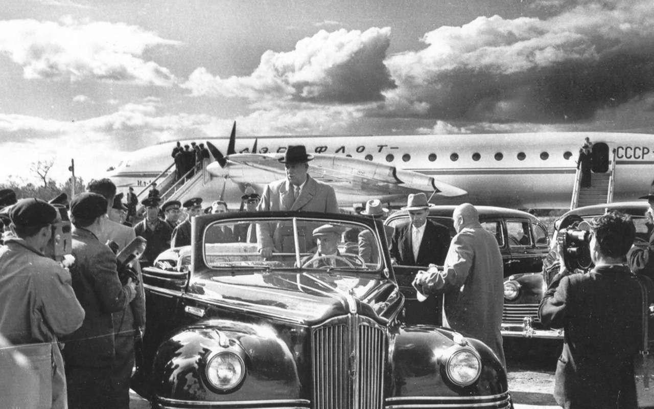 Автомобили Хрущева: вместо броневика— кабриолет ивнедорожник— фото 1232357