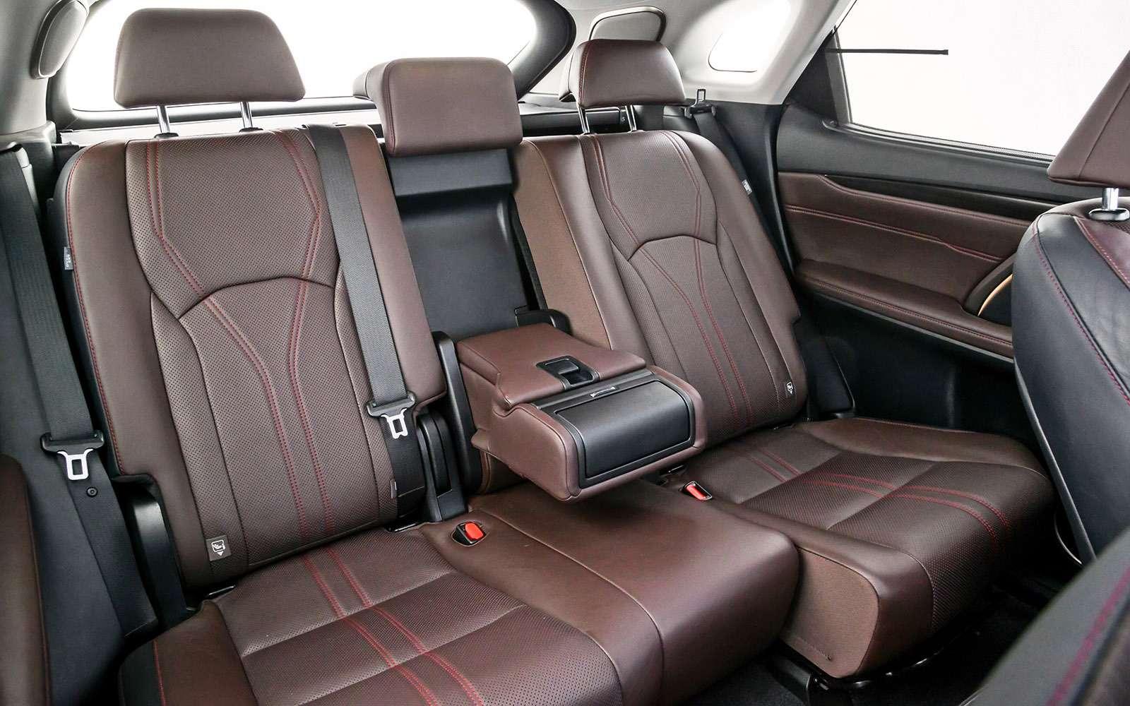 Тест премиум-кроссоверов: Lexus RX350, Cadillac XT5и Jaguar F-Pace— фото 721786