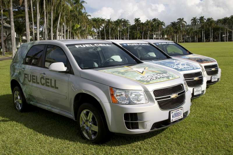 Military Fleet of GM Fuel Cell Vehicles